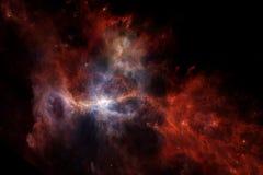 Nebelfleck eine interstellare Wolke des Weltraumbildes des Sternstaubes lizenzfreie stockbilder