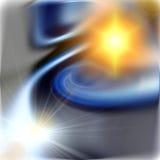 Nebelfleck und Strahlen Lizenzfreie Stockfotografie