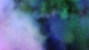 Nebelfleck-Wolke - Raum Stockfotografie