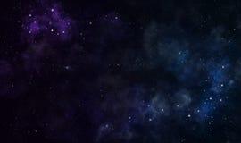 Nebelflecke Stockfoto