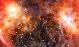 Nebelfleckgaswolke im tiefen Weltraum stock abbildung
