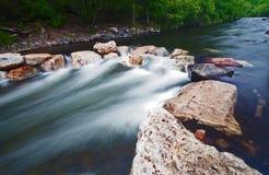 Nebelhafter Fluss Lizenzfreie Stockfotografie