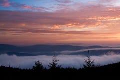 Nebelhafter Morgen Lizenzfreie Stockbilder