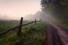 Nebelhafter Morgen Lizenzfreie Stockfotos