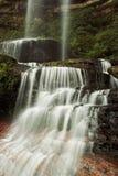 Nebelhafter Wasserfall Lizenzfreies Stockbild