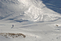 nebelhorn 免版税图库摄影