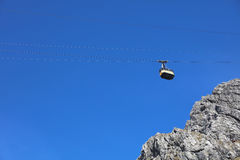 Nebelhorn cable car Royalty Free Stock Images