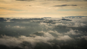 Nebelig morgens Lizenzfreies Stockbild