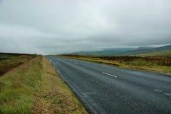 Straße in Irland stockfoto