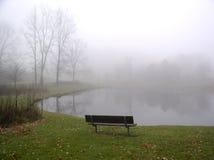 Nebeliger Herbst Lizenzfreies Stockbild