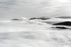 Nebelmeer Στοκ φωτογραφία με δικαίωμα ελεύθερης χρήσης