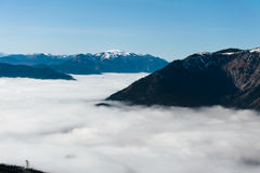 Nebelsuppe Στοκ φωτογραφίες με δικαίωμα ελεύθερης χρήσης