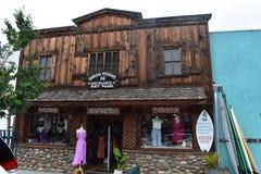 Nebeneinander Rincon-Design-Brandungs-Bretter und Brandungs-Shop, 2 stockfoto