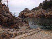 Nebenfluss bei Mallorca Stockbilder