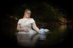 Nebenfluss-Braut Lizenzfreies Stockbild