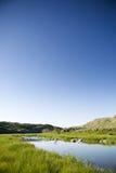 Nebenfluss-Hügel Lizenzfreie Stockbilder