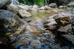 Nebenfluss in pong pha Badwasserfall Ching-rai Thailand Lizenzfreies Stockbild