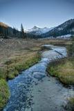 Nebenfluss, Wallowa Berge, Oregon Stockfoto