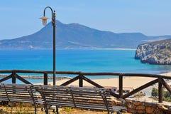 Nebida coastline Stock Photos