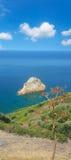 Nebida coastline Royalty Free Stock Images