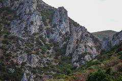 Nebida, Sardina Стоковая Фотография RF