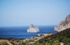 Nebida, Sardinia Stock Photography
