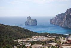 Nebida, Sardinia Stock Photo