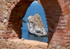 Nebida washery, Iglesias (Sardinia - Italien) arkivbilder