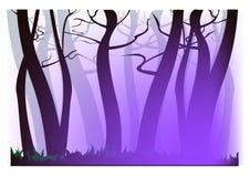 Neblina de la púrpura de la mañana Fotos de archivo