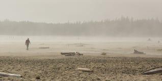 Neblina de Long Beach Imagen de archivo libre de regalías