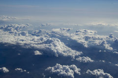 Nebo_003. Above the clouds Royalty Free Stock Photography