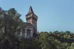 Neboisa Tower, Corvin Castle, Romania royalty free stock photo