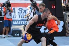 Nebojsa Boskovic - basquetebol 3x3 Fotografia de Stock Royalty Free