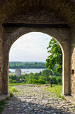 Nebojsa tower - between Kalemegdan fortress and Danube river, Belgrade Royalty Free Stock Photos