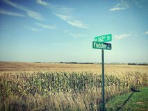 Nebraska Husker Royalty-vrije Stock Afbeeldingen