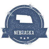 Nebraska mark. Royalty Free Stock Photos