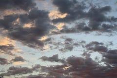 Nebraska nieba zdjęcie royalty free