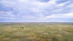 Nebraska Sandhills aerial view Stock Photos