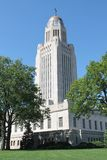Nebraska State Capital Royalty Free Stock Photo