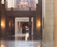 Nebraska State Capitol building interior details stock images