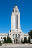 Nebraska State Capitol Tower Dome Stock Images