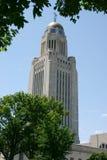Nebraska wieży kapitału obraz stock