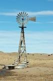 Nebraskan Windmill. Fully functioning windmill on a ranch in western Nebraska, near Lake McConaughy Stock Photos