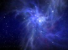 абстрактный nebula предпосылки Стоковые Изображения RF