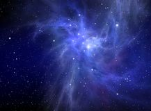Nebula ( abstract background ) Royalty Free Stock Images