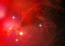 Nebula (abstract background) royalty free illustration