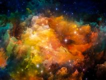 Nebula Abstraction Royalty Free Stock Photos