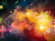 Nebula Arrangement Royalty Free Stock Photography