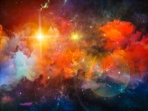 Nebula Arrangement Royalty Free Stock Image