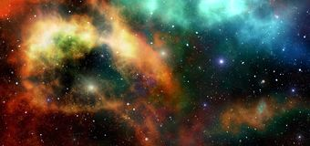 Nebula, Atmosphere, Universe, Outer Space Stock Images